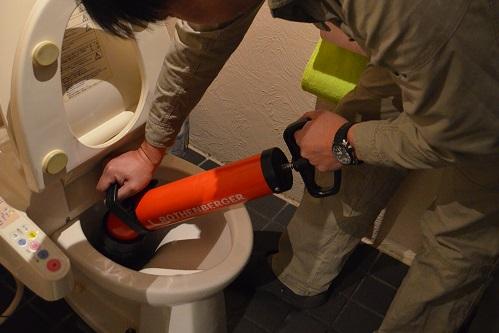 トイレのつまり 水漏れ修理   高崎市