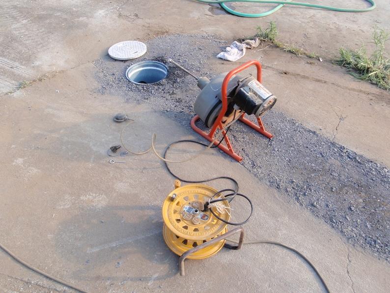 排水マス交換 排水パイプ清掃 セキスイ トーラー 群馬県伊勢崎市境上武士