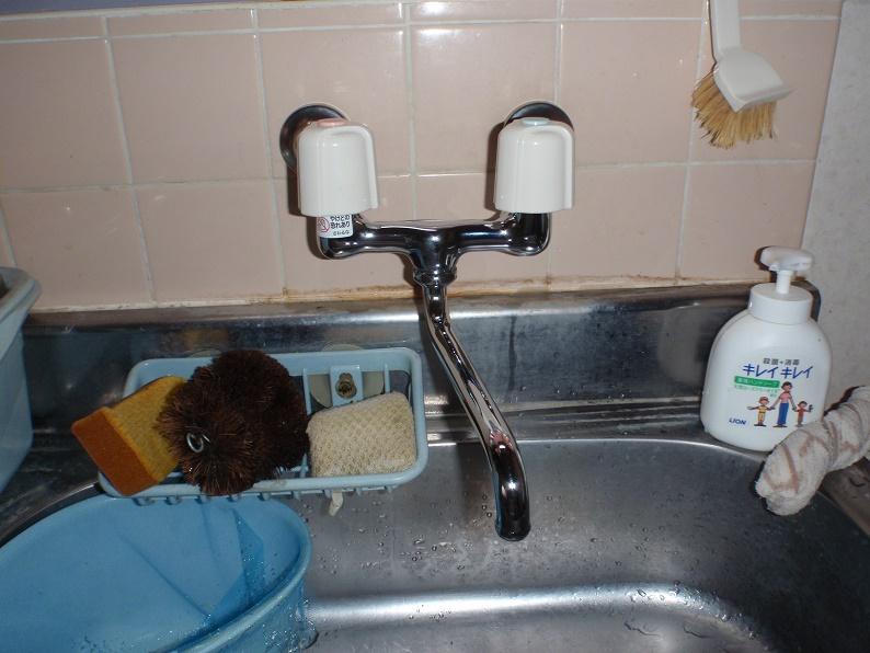 2ハンドル混合水栓交換 KVK 群馬県佐波郡玉村町五料