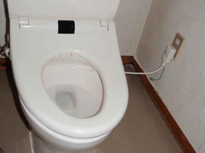 トイレ修理 つまり掃除 つまり修理 TOTO 前橋市河原浜町