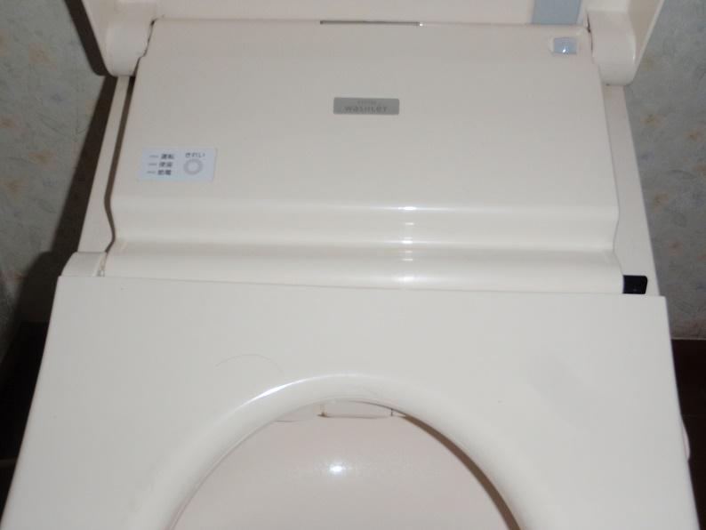 トイレ修理 ウォシュレットの修理 メーカー手配 TOTO 伊勢崎市境美原