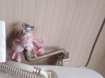 洗濯機水栓修理工事 蛇口交換工事 水漏れ修理工事 KVK 群馬県太田市龍舞