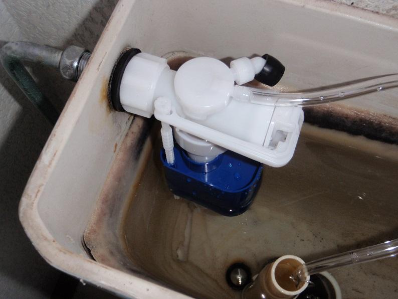 トイレ水漏れ修理 便器水漏れ修理工事 トイレタンク修理工事 カクダイ 伊勢崎市