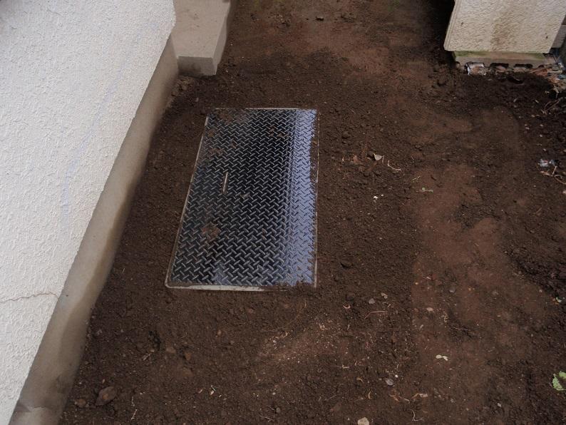 排水管修理工事 雑排水処理桝交換工事 排水漏れ修理工事   伊勢崎市